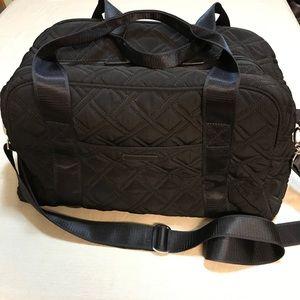 Vera Bradley Black Travel Bag